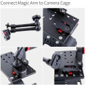Ronin S Quick Release Mount Plate for Monitor