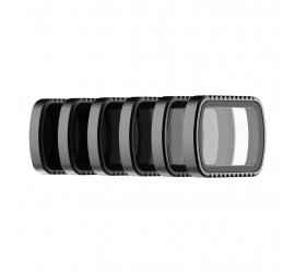 Polarpro Osmo Pocket Standard Series Filter 6-Pack (PL, ND4, ND8, ND16, ND32, ND64)