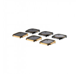 Polarpro Mavic 2 Pro Cinema Series Filter 6 Pack (ND4,ND8,ND16,ND4/PL, ND8/PL, ND16/PL)