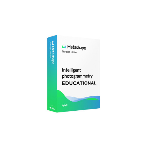Agisoft Metashape Standard, Node-Locked Educational License, 3 Licenses Pack