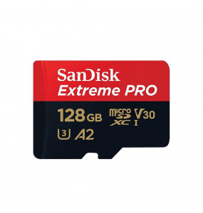 Sandisk Extreme Pro Micro SDHC UHS I 128GB U3 100MB/s