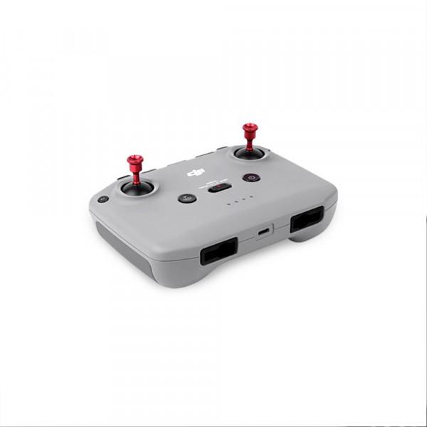 SunnyLife Mavic Air 2/Mavic Mini 2 Remote Controller Aluminium Alloy Joystick (RED)