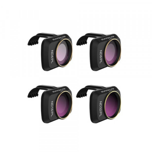 SunnyLife Mavic Mini ND4/PL - ND8/PL - ND16/PL - ND32/PL - Filters 4 Pack