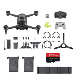 FPV Combo + Fly More Kit + Micro SD 128G de Regalo